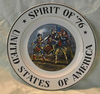 Spirit of '76 souvenir plate United States of American made in Japan