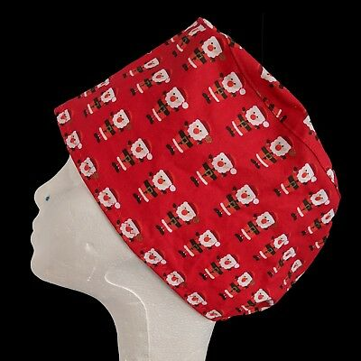 Santa Claus Operating Theatre Scrub Caps/Hats - nurse, ODP, surgeon, vet