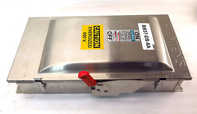 Siemens Stainless Steel HNFC364S Non Fusible Disconnect Switch 200A 600V