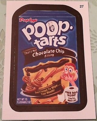 2014 Topps Wacky Packages Series 1 Mint Droploggs Poop Tarts #27 Combine Ship