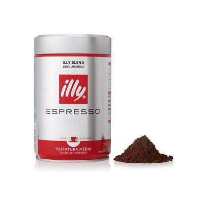 illy Coffee Ground Coffee Medium Roast 250g (box of 6)