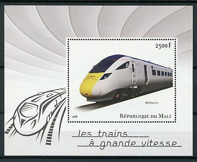 Mali 2016 MNH High-Speed Trains BR Class 800 1v S/S Rail Railways Stamps