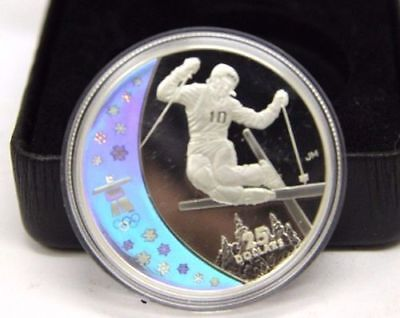 Vancouver 2010 Royal Canadian Mint Sterling Silver - Freestyle Skiing