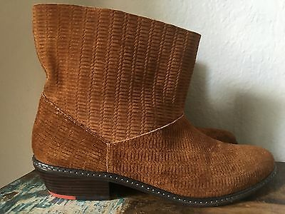 d849aee8b36 NEW SUEDE LEATHER Fringe Ankle Boots Steve Madden Size 9 -  10.00 ...
