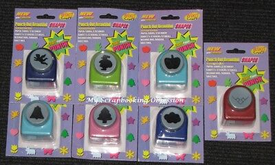 Wisko Craft 'MEDIUM PAPER PUNCH' (Choose from 7) Card Making/Craft Punches