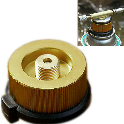 Aluminum Split Type Camping Stove KFZ off  Tank Adapter Conversion Connector New