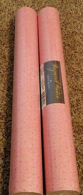 Raymond Waites Imperial Wallpaper Pink print 2 double rolls new sealed