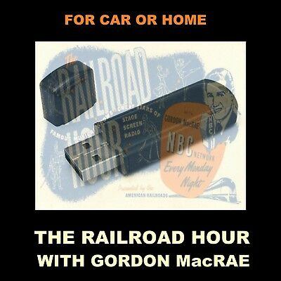 Railroad Hour. Enjoy 245 Old Time Radio Musicals & Operettas In Your Car Or Home