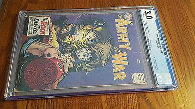 Our Army at War #81 CGC 3.0 DC 1959 Sgt. Rock prototype! OFF WHITE PAGES!