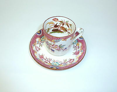 Place Setting Cup with Saucer around 1890 Flower Painting