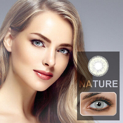 1 Pair Unisex Eye Charming Colour Contact Lenses Cosmetic Beauty Tool Novità
