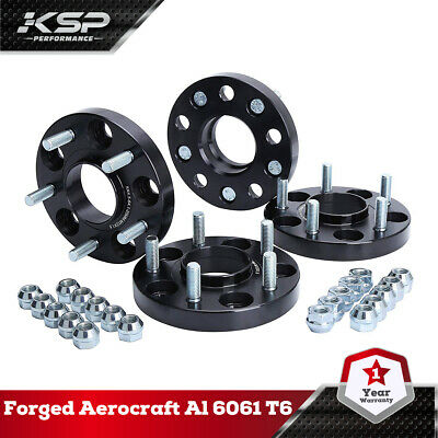 4PC 20MM Wheel Spacers Hubcentric 5x4.5 5x114.3mm 12x1.5 64.1mm Fit Honda Acura