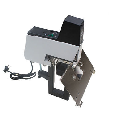 US Electric Auto Rapid Stapler Flat+Saddle Binder Machine Book Binding Machine