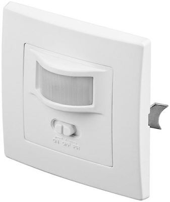 PIR motion sensor wall mounting 160° detection 9m range indoor use IP20LEDs