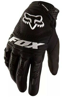 NEW Black FOX MOTOCROSS ENDURO COLD Dirtpaw GLOVES MX SIZE M-L.  Motorbike