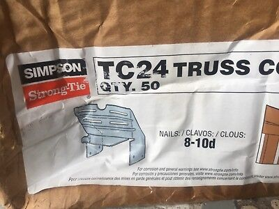 Box of 50 Simpson Strong-Tie TC24 Truss Connector