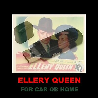 Ellery Queen. Enjoy 114 Old Time Radio Mysteries While Driving Or At Home!