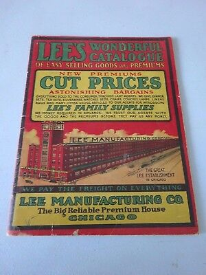 1915 Lee's Manufacturing Wonderful Catalog, Chicago, 92 Pages