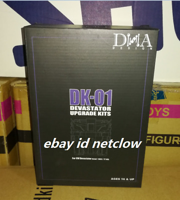 Transformers DNA DK-01 DEVASTATOR Upgrade kits in Stock