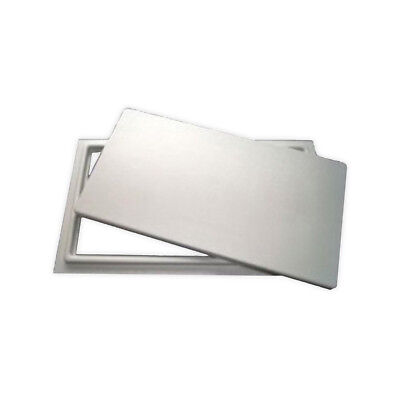 """Crawl Space Access Door without Louvers - White (16""""x24"""")"""