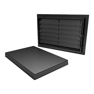 """Crawl Space Access Door with Louvers (12""""x20"""")"""