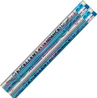 New Teachers School #P948 / #P949 Excellent Attendance Lead Pencils