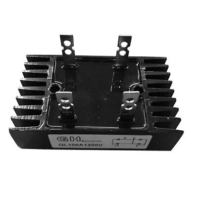 ChaoHe 100A 1200V Single Phase Diode Bridge Rectifier -QL 100A 1200V Q1G6 Y8T8