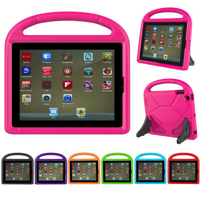Kids Safe EVA Shock Proof Stand Handle Case Cover For iPad 2 3 4 5 Air Mini Pro
