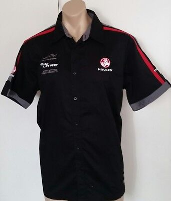 """Holden Official Product """"Commodore"""" Front Button Shirt, Short Sleeve Size L /102"""