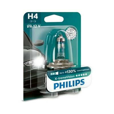 Glühlampe H4-LAMPE X-TREME VISION 12342 PHILIPS 12342XV+B1