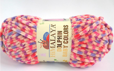 Dolphin Baby Colors Super Bulky yarn by Himalaya 3.53 oz/100g #80405