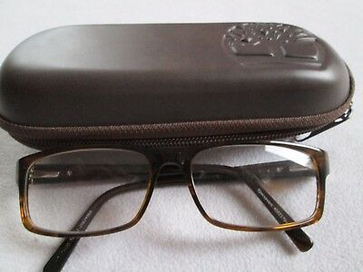 Timberland brown glasses frames. TB 1252. With case.