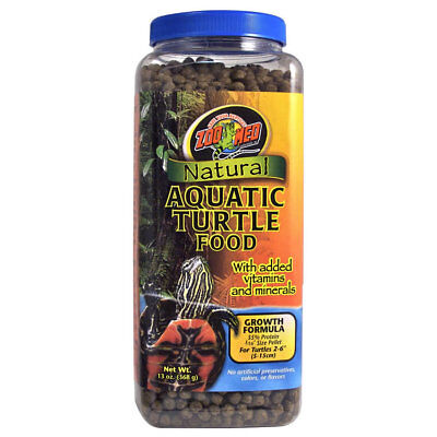 Zoo Med Aquatic Turtle Food Growth 368g Terrapin Turtle Food