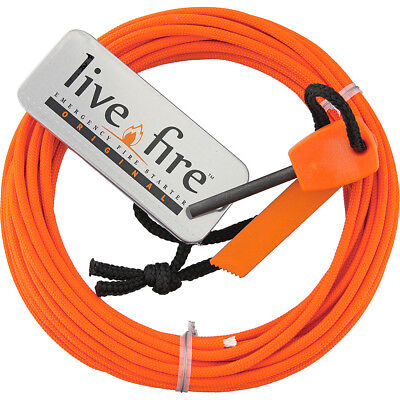 Live Fire Ring O Fire Safety Orange