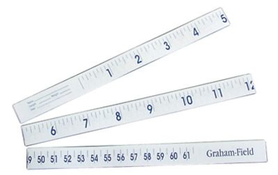 "Graham Field - Infant Paper Tape Measure 36"". #1335. 1000/Box. NEW. Free Ship!"