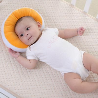 KAKIBLIN Baby Pillow Anti-flat Head Syndrome Ultra Soft Memory Mawata - Orange