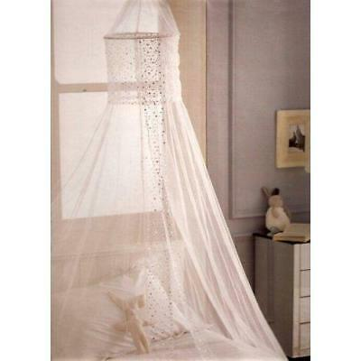 Popsicle Design Bed Canopies - White & Pink Canopy. Bedroom Accessories...