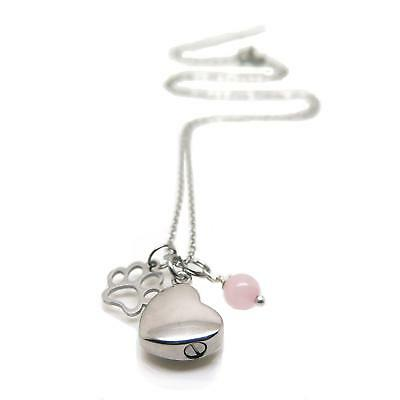 Cremation Necklace Urn for Pet Ashes - Memorial Jewellery