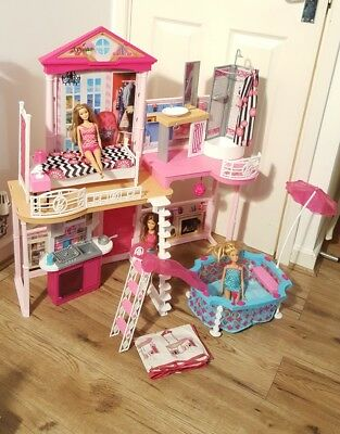 Complete Barbie Home Set.