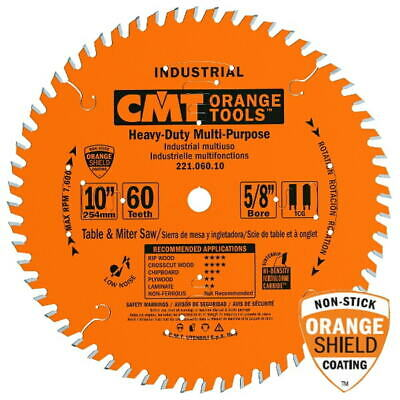 "CMT Orange Tools 221.072.12 Cabinetshop Blade 12""X72 1"""