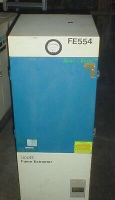 PACE FUME EXTRACTOR FE554 EVAC SERIAL nUMBER 412069