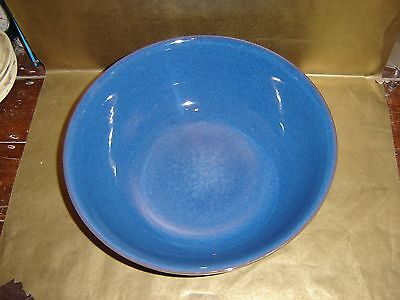 denby imperial blue large mixing / serving bowl
