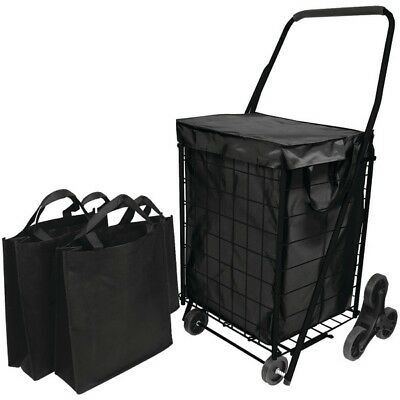 HELPING HAND(R) FQ39908BK Helping Hand(R) Stair Climb Cart with Liner & 2 Bags