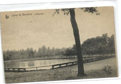 1 old postcard Camp Beverloo abreuvoir