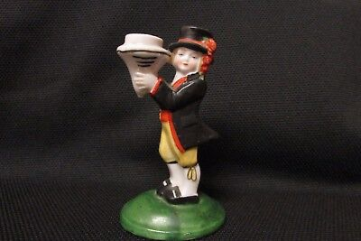 Antique German half doll related Porcelain Boy Figurine