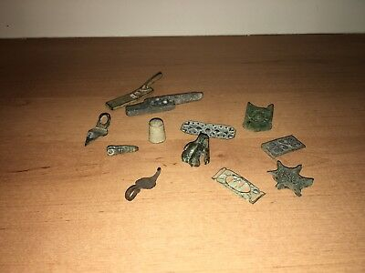 Spanish Roman bronze Artifacts/Artefacts/antiquities Collection. Lion paw.