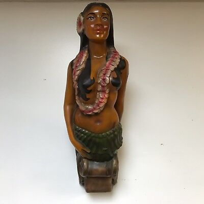 Hula Girl Boat Ship Figurehead Nautical Decor Hawaii