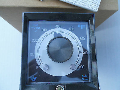 NEW now Danaher EAGLE SIGNAL Controls TC208B60112 Temperature Controller 0-800F.