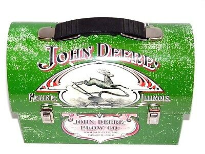 John Deere Plow CO, Lunch Box 1904 Farmers Companion Vintage