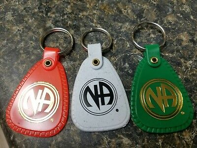5 years, decade, 15 years narcotics anonymous key tags